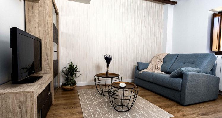 Sofá cama – Apartamento Turístico Trujales – RiojaValley